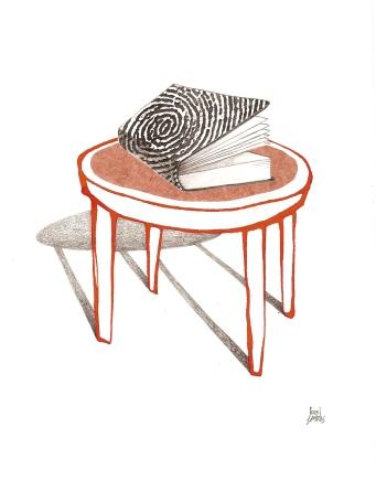 Lecturas con ADN. Ilustración de Sergi Cambrils