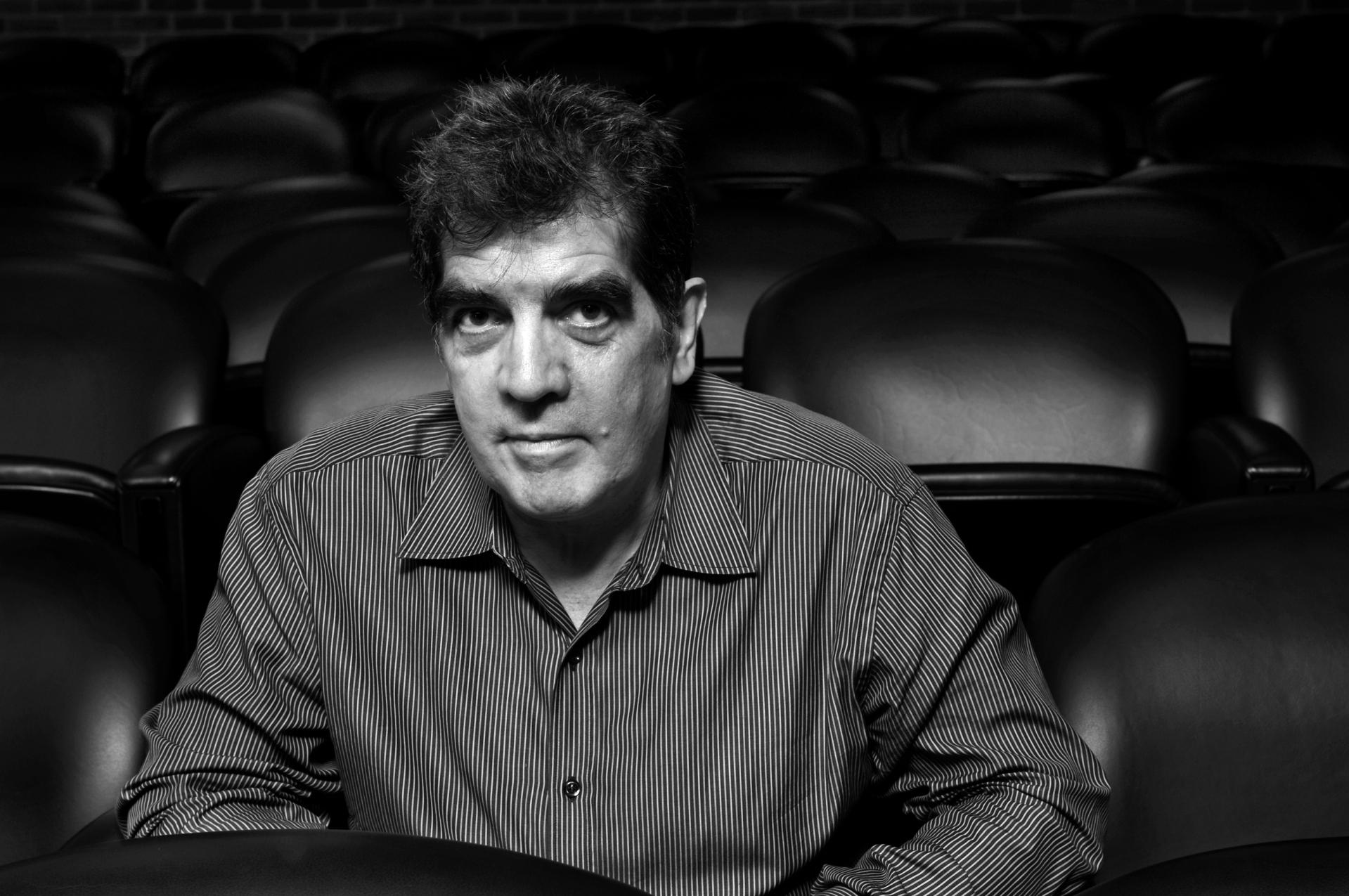 Eduardo Lago en el Instituto Cervantes de NY, 2008.