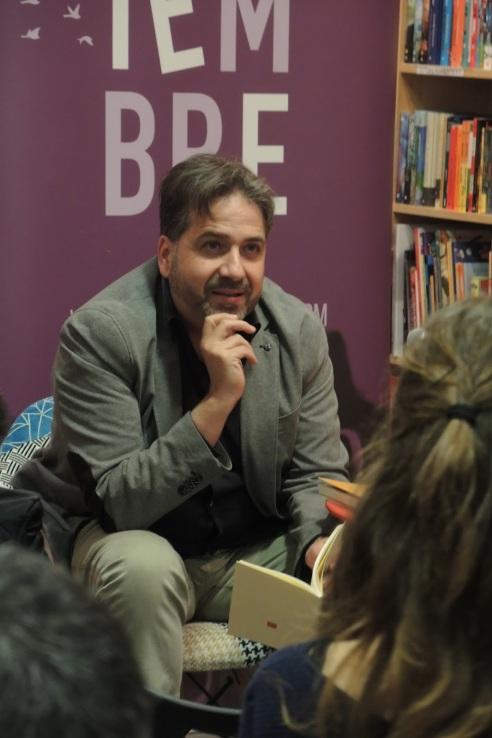 jordi doce presenta no estabamos alli en librería noviembre benicassim